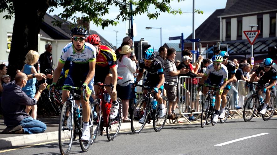 S.Yates on the front, Abergavenny